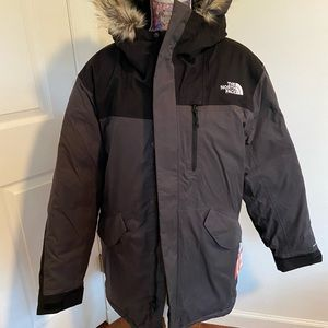The north face men's down parka M